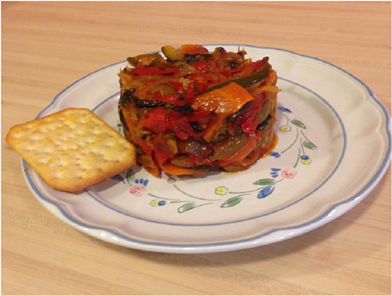 Receta de verduras Maria Guia