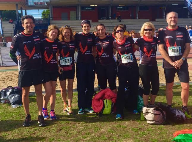 Vitalrunners en la Media Maratón de Getafe