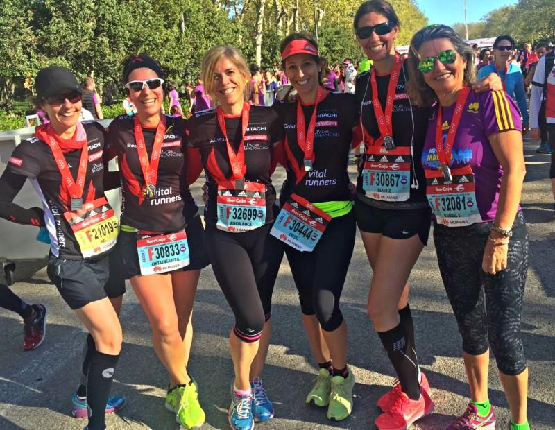 La Media Maratón de Madrid de Vitalrunners