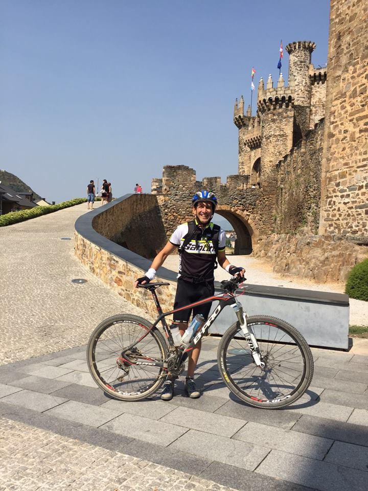 Joaquín Delgado Martín, Castillo de los Templarios Ponferrada