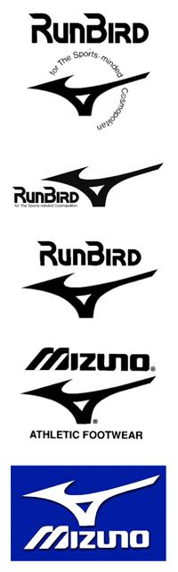 Runbird - Logo Mizuno
