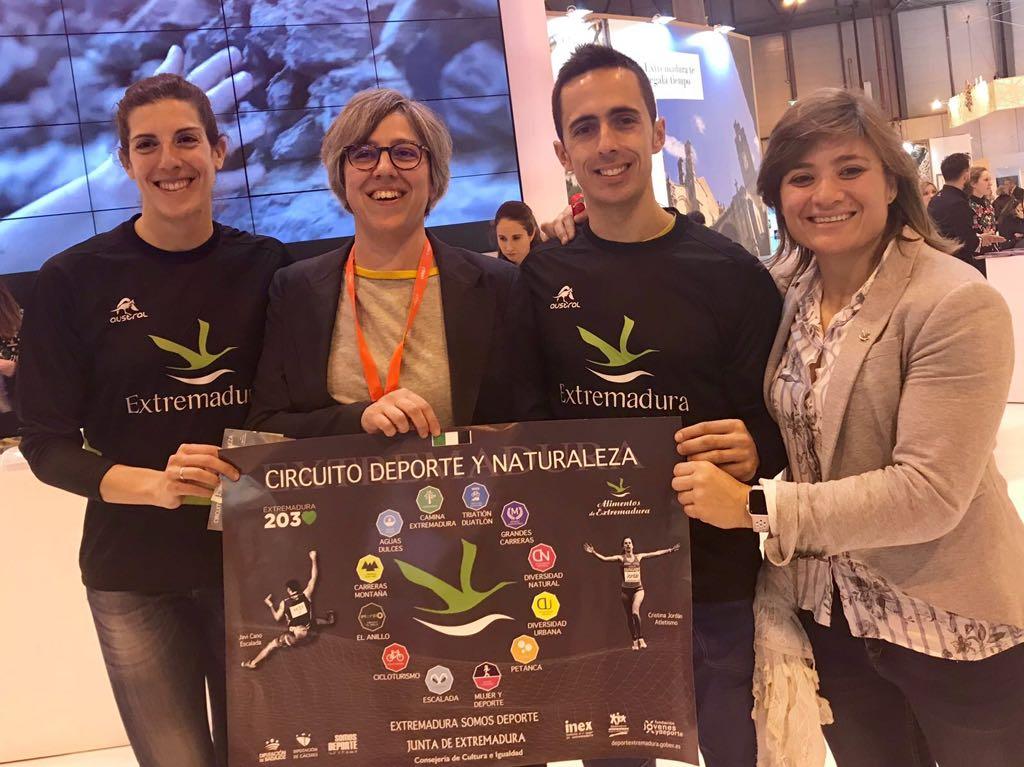 Presentación del 'Circuito Deporte y Naturaleza' de la Junta de Extremadura